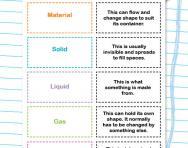 Solids, liquids and gases worksheet
