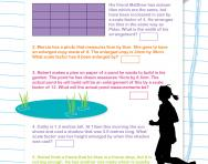 Solving scale factor problems worksheet