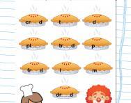 Spelling patterns: ie worksheet