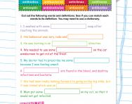 Spelling patterns: the prefix anti- worksheet