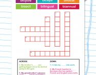 Spelling patterns: the prefix bi- worksheet