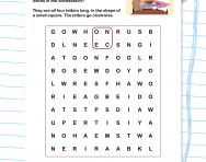 Square words wordsearch