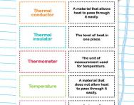 Temperature and heat worksheet