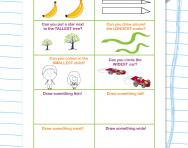 The language of measurement worksheet