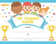 TheSchoolRun Top Teacher Award