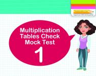 Multiplication Tables Practice Check 1