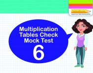 Multiplication Tables Practice Check 6