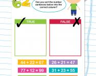 Two-digit addition practice activity