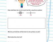 Understanding circuits worksheet