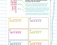 Chunking explained for primary-school parents | Chunking numbers to
