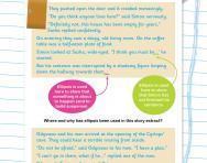 Using ellipsis in stories worksheet