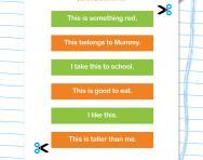 Using simple sentences