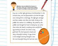 Verb tenses in writing worksheet