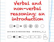 Verbal non-verbal reasoning pack cover