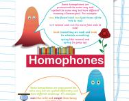 Verbal reasoning worksheet: Homophones and homographs practice