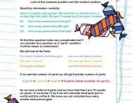 Verbal reasoning worksheet: Logical deduction practice