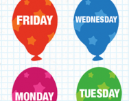 Ordering the days of the week tutorial