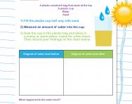 What is evaporation investigation