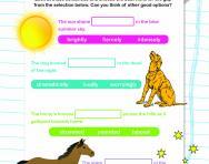 Word choice worksheet