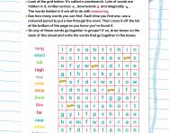 Wordsearch: length or distance