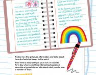 Writing a diary entry worksheet