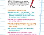 Writing a letter to your favourite author template