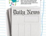 Writing a newspaper report