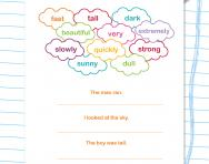 Writing: improving sentences worksheet