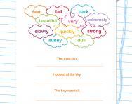 Writing: improving sentences worksheet
