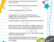 Writing in the past tense worksheet
