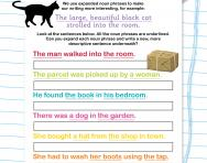 Writing noun phrases worksheet