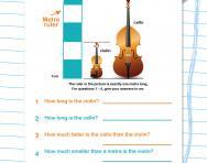 Y4 length word problems worksheet