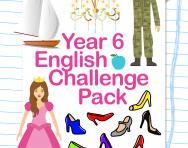 Year 6 English Challenge Pack