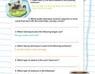 Y6 grammar quiz