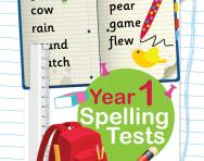 Year 1 spelling tests pack