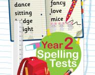 Year 2 spelling tests pack