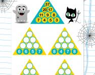 Year 3 number pyramids: 1