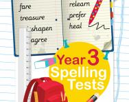 Year 3 spelling tests pack