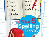 Year 5 spelling tests pack