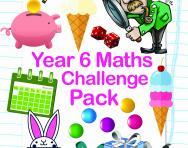 Year 6 Maths Challenge Pack
