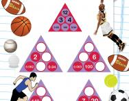Year 6 number pyramids: multiplying by 100 and 1000