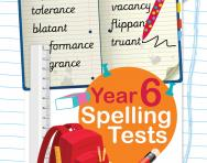 Year 6 spelling tests pack