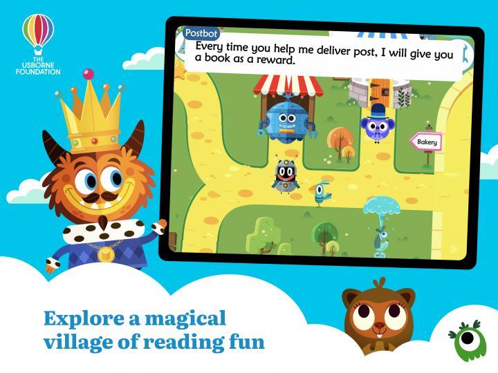 Teach Monster: Reading for Fun