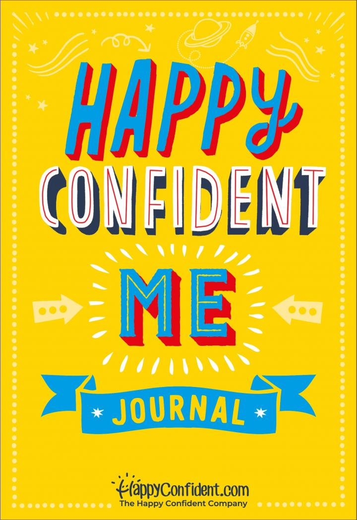 Happy, Confident Me Journal by Nadim Saad