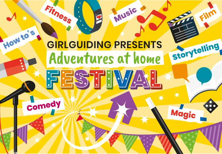 Girlguiding presents: Adventures at Home Festival