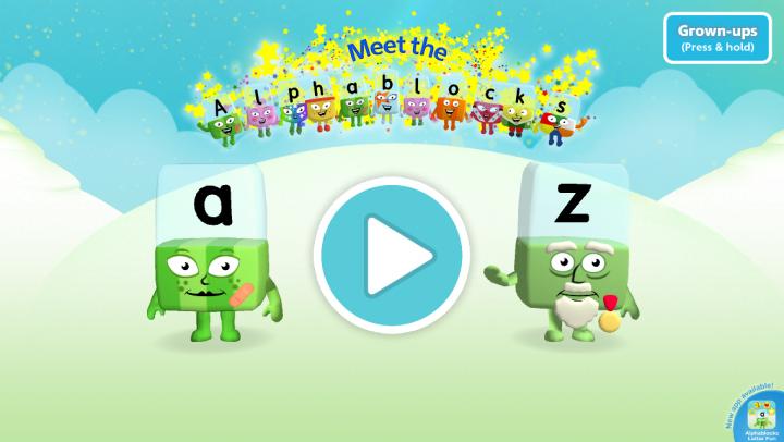 Meet the Alphablocks app