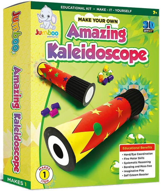 Make Your Own Amazing Kaleidoscope