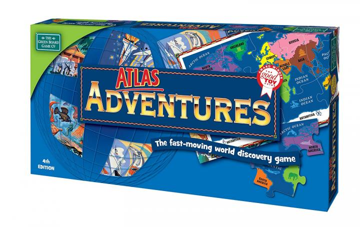Atlas Adventures geography board game