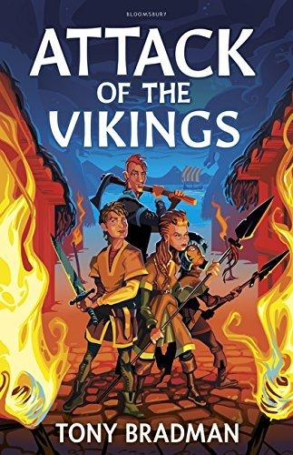 Attack of the Vikings by Tony Bradman