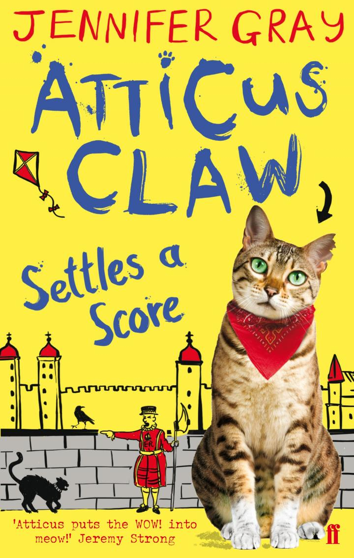 Atticus Claw Settles a Score by Jennifer Gray